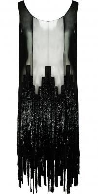 CHANEL 1920'S BEADED FLAPPER DRESS.