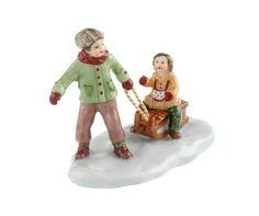 Villeroy & Boch hračky Village Děti s spřežení