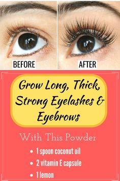 Grow Long, Thick, Strong Eyelashes & Eyebrows With This Powder Korean Beauty Tips, Beauty Tips For Face, Natural Beauty Tips, Beauty Care, Beauty Hacks, Beauty Skin, Dry Eyes Causes, Clean Face, Beauty Routines