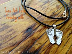 Children Art, Turned Into Jewelry! {Giveaway}