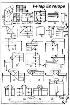 17 Best images about Letter & Envelope folding on … – Gitu Letter Folding, Paper Folding, The Diagram, Origami Envelope, Envelope Lettering, Origami Instructions, Cardmaking, Paper Crafts, Letters