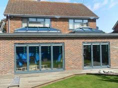 Call Radcliffe Glass & Windows on 0161 724 8501 for the design and build of home extensions like uPVC porches. We cater to clients in Greater Manchester, Lancashire and Cheshire 1930s House Extension, House Extension Plans, House Extension Design, Roof Extension, House Design, Extension Ideas, Cheap Pergola, Pergola Patio, Pergola Ideas