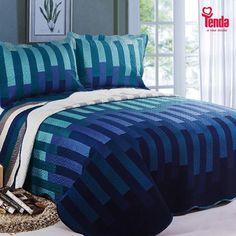 Ʋista a sua cama com este look divino e conquiste um ambiente sereno e elegante! #Tenda, a sua moda.