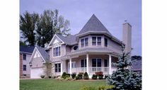 From TheHouseDesigners..., a nice roomy Victorian called the Gettysburg II