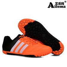 Fashion Men s Soccer Shoes TF Turf Indoor Soccer Cleats Football Sports Sneakers  Indoor Soccer Cleats 4bb2afbcbfb4e