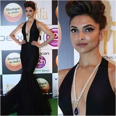 Our favorite last night at IIFA Rocks was @deepikapadukone in a black @officialswapnilshinde gown #bollywood #style #fashion #beauty #bollywoodstyle #bollywoodfashion #indianfashion #celebstyle #deepikapadukone #swapnilshinde #iifa2016 #iifamadrid2016