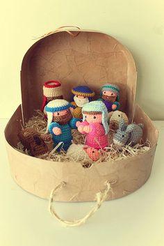 Pesebre |  Narodzenia Crochet |  Navidad: