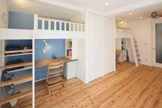 戸建て 間取り変更 のリフォーム施工事例。明るく楽しい子供部屋の完成!