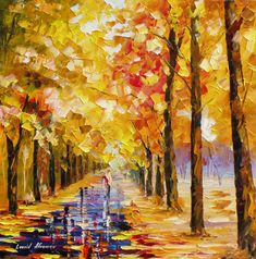 YELLOW-IN-LOVE- PALETTE KNIFE Oil Painting On Canvas By Leonid Afremov https://afremov.com/YELLOW-IN-LOVE-PALETTE-KNIFE-Oil-Painting-On-Canvas-By-Leonid-Afremov-Size-24-W-x-24-H.html