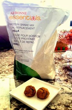Secrets of a Fitness Model: Arbonne Shake Mix Ginger Cookies