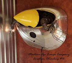 Aviation Cessna 172 Airplane Engine cowling wall sconce lamp light, # DC16