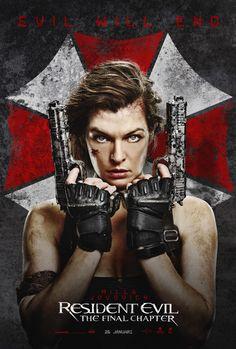 #ResidentEvil The Final Chapter