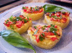 Sformatini light di patate e pomodorini