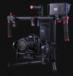 INSTAR films took a look at the MOZA 3-axis brushless gimbal camera rig... MOZA 3-axis gimbal has built-in sensors to detect any movements from the operator, and pass it to three brushless motors t...