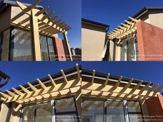CCA treated pine pergolas installed in Copperleaf Golf Estate Golf Estate, Timber Deck, Timeline, Pine, Outdoor Structures, Pine Tree