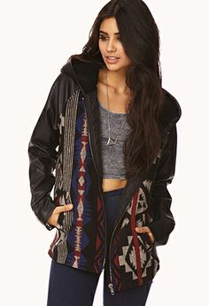 Out West Hooded Jacket | FOREVER 21 - 2073388007