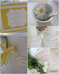 Daisies, Lemons, and Lace: A Crepe Bar Daisy Wedding, Yellow Wedding, Summer Wedding, Dream Wedding, Crepe Bar, Welcome Spring, Wedding Ideas, Wedding Stuff, Daisies