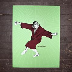 The Dude  The Big Lebowski Limited Edition Screen by MikeyHester, $40.00