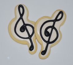 The Preppy Chef: Music Themed Cookies