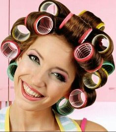 Hair and Curlers Roller Set Hairstyles, Permed Hairstyles, Modern Hairstyles, Sleep In Hair Rollers, Hair Curlers Rollers, Best Professional Hair Dryer, Best Hair Dryer, Bobe, Hair Setting