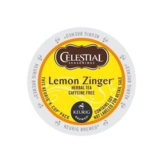 Celestial Seasonings Lemon Zinger Herbal Tea KCup Portion Pack for Keurig KCup Brewers 24Count >>> You can find out more details at the link of the image.Note:It is affiliate link to Amazon.