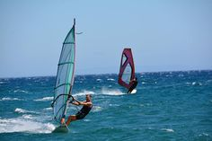 Davosskates.gr Windsurfing, Golden Gate Bridge, Boat, Travel, Viajes, Boats, Destinations, Traveling, Trips