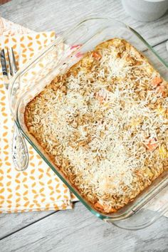 This is my favorite baked oatmeal recipe! Pina Colada Baked Oatmeal - Low Calorie, Low Fat, Healthy Breakfast