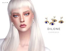 Sims 4 CC's - The Best: Earrings by SLYD