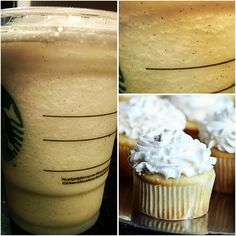 Just Added : *CUPCAKE FRAPPUCCINO* !! Straight from the Secret Starbucks Fan-Favorite Frappuccino's!