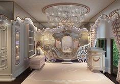 Luxury Kids Bedroom, Bedroom Decor For Teen Girls, Baby Bedroom, Baby Room Decor, Modern Girls Rooms, Kids Bedroom Designs, Baby Room Design, Princess Bedrooms, Luxury Homes Dream Houses