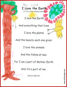 What a lovely Earth Day connection! FIRST, children sing and sign this song…