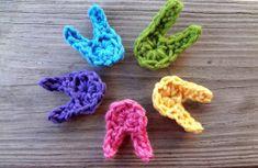Little Crochet Easter Bunnies | AllFreeCrochet.com