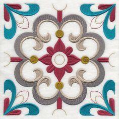 Marrakesh Tile 2 design (M8080) from www.Emblibrary.com
