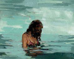 Summer Girl. Horiztonal / Landschaft Giclee Print