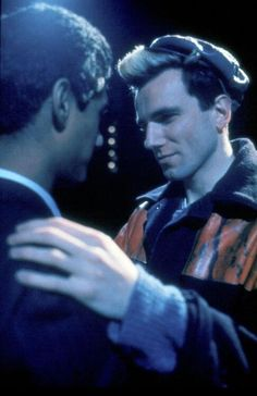 My Beautiful Laundrette http://gay-themed-films.com/films-to-watch-my-beautiful-laundrette/