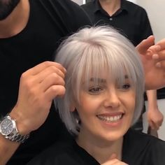 32 Layered Bob Hairstyles : Add These Hot Layers to Your Haircut Now - Style My Hairs Bob Haircut For Fine Hair, Haircuts For Thin Fine Hair, Layered Bob Hairstyles, Short Hairstyles For Women, Hairstyle Short, Bobs For Fine Hair, Bob Haircuts For Women, Haircuts For Over 50, Short Hair Cuts For Fine Thin Hair