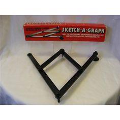 Sketch-A-Graph for copying, enlarging or reducing drawings.