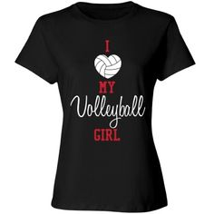 Volleyball Mom - girl Misses Relaxed Fit Cotton T-Shirt