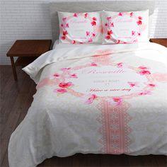 Garden Hotel dekbedovertrek - www.smulderstextiel.nl - #fleurig #beddengoed #sheets #bedding #laken #lente #voorjaar #spring #springbreak #color #bedroom #slaapkamer #dessin #interior #style