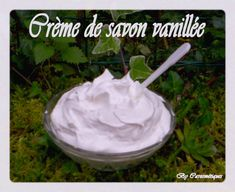*10 g de cire emulsifiante*50 g d'huile... Diy Beauty, Creme, Icing, Cosmetics, Homemade, Mousse, Food, Make Soap, Eten