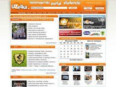 Portal akademicki Uzetka.pl to jeden z naszych pierwszych projektów, który zakończyliśmy kilka lat temu ;-)