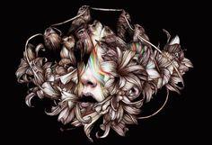 Рисунки цветными карандашами Marco Mazzoni