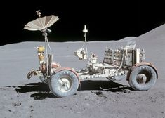 A Lunar Rover Vehicle is the classic EV I'd most want