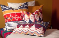 Mexican inspired prints, decor
