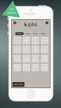 Diptic app.  Try it, you'll like it.