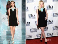 Dakota Fanning In Versace – 'Every Secret Thing' New York Film Critic Series Premiere