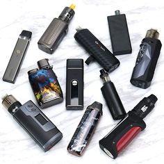 Which one caught your attention first? Follow @Elegomall_com for more. Warning: This product contains nicotine. Nicotine is an addictive chemical. #elegomall #vaporesso #eleaf #vape #vapelife #obs #vapecommunity #vapedaily #vapepod #vapesociety #vaper #vapeon #vapeonfriends #vapesociety #vapefamily #vapejuice #vapeaddict #vapelove #vapepics Vaping Devices, Vape Juice, Usb Flash Drive, Usb Drive
