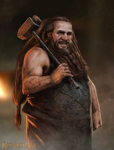 Kingdom Age - Dwarf by *dustsplat on deviantART