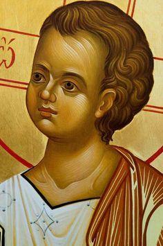 Religious Images, Religious Icons, Religious Art, Byzantine Icons, Byzantine Art, Writing Icon, Paint Icon, Catholic Art, Sacred Art