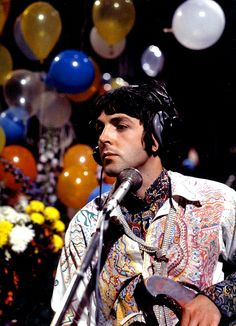 """Paul during """"Our World"""" all you need is love"""
